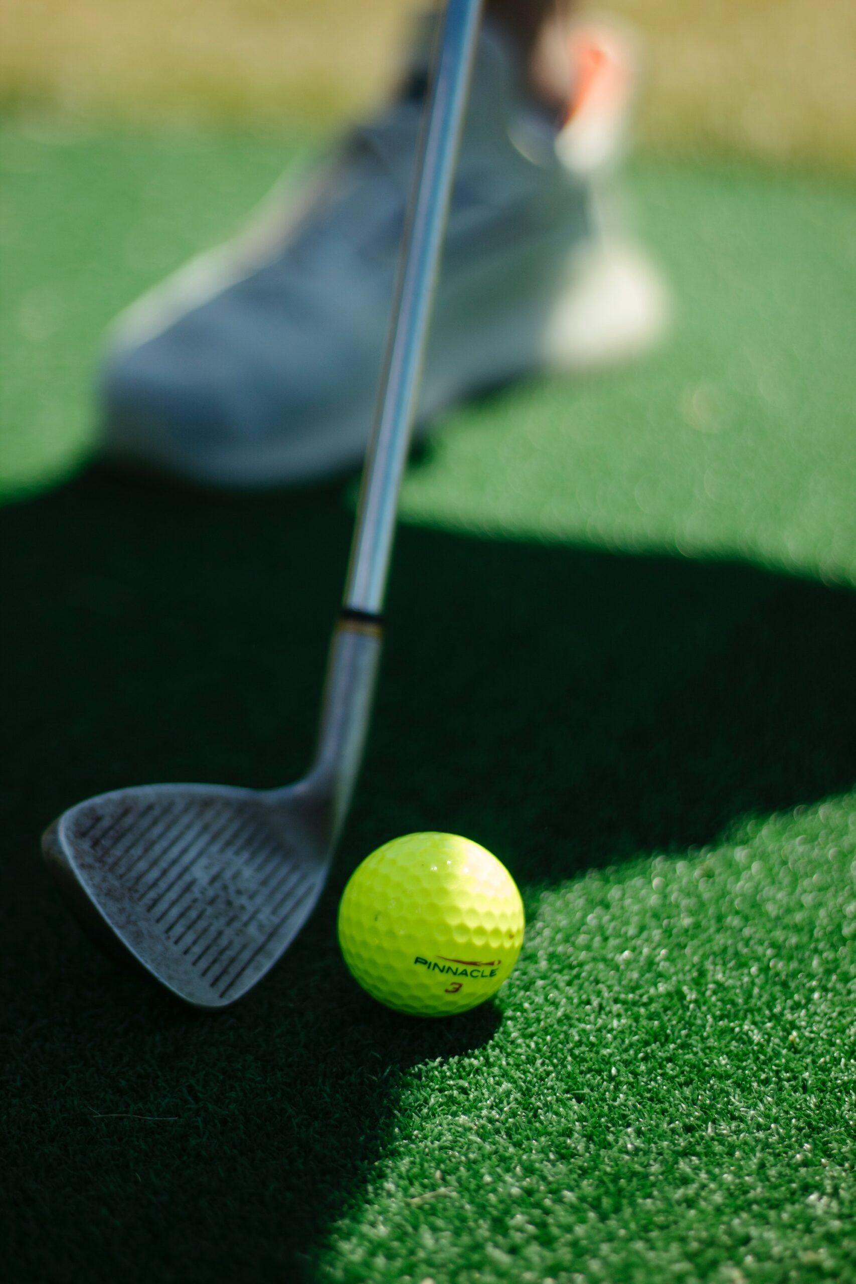 Sådan fjerner du ridser på din golfkølle